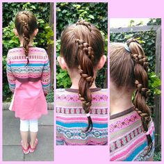 """30 curtidas, 6 comentários - Nynke (@nedl1) no Instagram: """"A simple but beautiful #carrouselbraid from a high #ponytail for church today. I don't usually use…"""""""