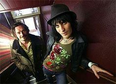 Noel and Julian. Mighty Mighty, The Mighty Boosh, My Doppelganger, Julian Barratt, Noel Fielding, Through Time And Space, To My Future Husband, Favorite Tv Shows, Sexy Men