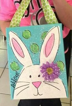 59 trendy dot art for kids easy crafts Bunny Painting, Spring Painting, Spring Art, Painting For Kids, Spring Crafts, Holiday Crafts, Art For Kids, Easter Projects, Easter Crafts For Kids