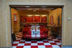 Garage, Flooring, Carport Garage, Garages, Wood Flooring, Car Garage, Floor, Carriage House