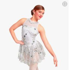 Jubilation-White-amp-Silver-Curtain-Call-Contemporary-Dance-Dress-Costume-ASM-ALA
