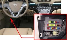 Acura MDX (YD2; 2007-2013) fuses: 10+ ideas about acura mdx, fuse box,  electrical fuse, and morePinterest