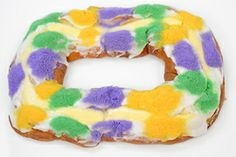 Haydel's King of Carnival King Cake Package $52 overnight shipping