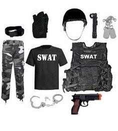 Buy Kids Swat Team Leader Costume at Army Surplus World Boys Swat Costume, Swat Halloween Costume, Dino Costume, Classic Halloween Costumes, Police Costume For Kids, Halloween 2017, Kids Police, Swat Police, Police Officer