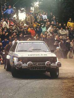 Talbot Sunbeam - Toivonen - Portugal 1981