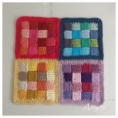 Atty's : Braided/Woven Crochet Block