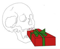 Happy Holidays from the Saturnalia Skeleton!