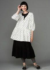 Eco-cotton skirt
