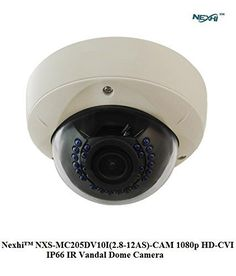 Special Offers - NexhiTM NXS-MC205DV10I(2.8-12AS)-CAM 1080p HD-CVI IP66 IR Vandal Dome Camera with 2.8-12mm Motorized Lens 30IR & DC12V - In stock & Free Shipping. You can save more money! Check It (June 20 2016 at 03:45PM) >> http://wpcamera.net/nexhitm-nxs-mc205dv10i2-8-12as-cam-1080p-hd-cvi-ip66-ir-vandal-dome-camera-with-2-8-12mm-motorized-lens-30ir-dc12v/