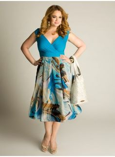 Aruba Dress #IGIGI    I would wear this to work, church, and out!!!  I may add a cami but I love the colors!