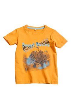 Mega fede Name it T-shirt Vils mini Orange Name it T-shirt til Børn & teenager til enhver anledning