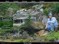 Seattle Webdesign - Kinssies Landscaping