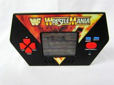 1989 Acclaim LCD Electronic Handheld Game WWF Wrestlemania Challenge - Wrestling for sale online Retro Video Games, Challenges, Wrestling, Electronics, Lucha Libre, Consumer Electronics
