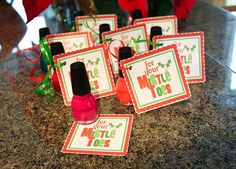 For your mistletoes! CUTE!