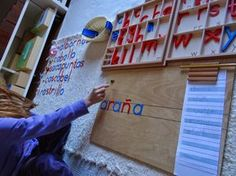 Niveles de lenguaje Montessori // Montessori different levels of Language.