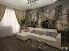 Гостиная: интерьер, квартира, дом, гостиная, современный, модернизм, 20 - 30 м2 #interiordesign #apartment #house #livingroom #lounge #drawingroom #parlor #salon #keepingroom #sittingroom #receptionroom #parlour #modern #20_30m2 arXip.com
