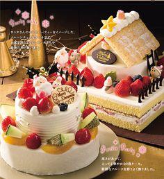 パーティーケーキ&フルーツパーティーケーキ