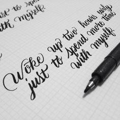 Lettering by Daniel Palacios Medium used: Zebra Disposable Brush Pen - Medium