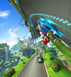 HD wallpaper: Mario Kart 8 Deluxe, Nintendo Switch, Wii U, representation Super Mario World, Mundo Super Mario, Super Mario Games, Super Mario Art, Mario Kart 8, Mario Bros., Mario And Luigi, Video Game Posters, Video Games