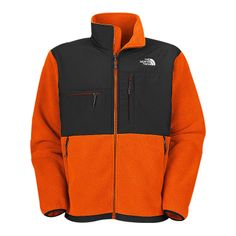 #WarmJackets The North Face Denali Orange Jacket Enjoys Great Popularity From The Fashion World!