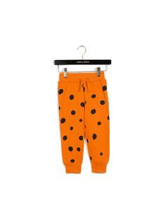 Mini Rodini Pants| Dots Orange