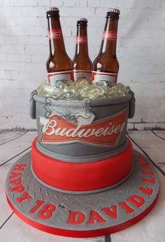 Budweiser - Cake by kerrycakesnewcastle
