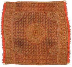 moon shawl early 19th century