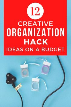 Are you feeling overwhelmed with clutter? check out these 11 lifehacks to teach how to organize your bedroom, closet and small spaces with these storage tips and ideas. #diy #organizationtips #storagehacks Mason Jar Storage, Mason Jar Lids, Jean Organization, Painted Tin Cans, How To Make Scarf, Hanging Mason Jars, Diy Playbook, Thick Cardboard, Storage Hacks