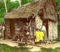 Old time country house, Jamaica