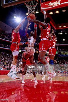 Fotografia de notícias : Michael Jordan of the Eastern Conference All-Star...