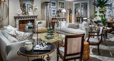 Living Room designedby Bunny Williams.