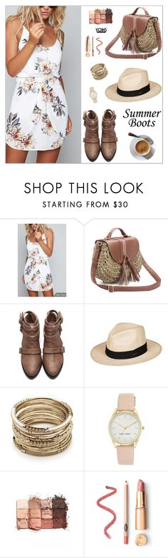 """yoins492"" by nastenkakot ❤ liked on Polyvore featuring Roxy, Sole Society, Nine West, tarte, yoins, yoinscollection and loveyoins"