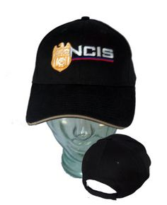 Structured Black Official Crest NCIS Hat, NCIS Caps, Clothing and Gear ~ at Streepwear