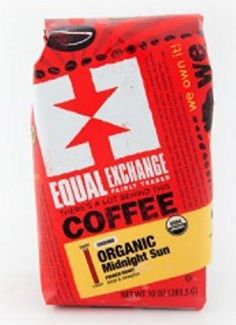 Equal Exchange Organic Coffee Midnight Sun Whole Beans 12 Ounces >>> Find out more about the great product at the affiliate link Amazon.com on image.