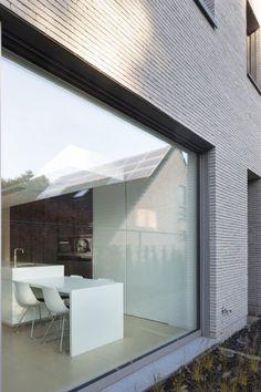architectenburo anja vissers moderne villabouw villa Olen