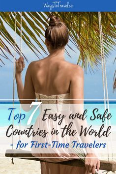 I have collected the absolute easiest and safest countries to travel for first-time travelers based on crime rate, health care, infrastructure, language and my personal biased opinion. Re-pin if you agree that this travel advice is helpful for first-time solo backpackers and other 2021 travelers. First time travel | Travel tips | Covid | Corona | Travel Safely | First Travel Abroad | International travels #travelsafe #safetraveling #travelcovid #travelinspiration #travelin2021 #safecountriesI ha Travel Hacks, Travel Advice, Travel Ideas, Travel Inspiration, Travel Tips, Solo Travel, Time Travel, Places To Travel, Travel Destinations