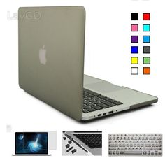 Rubbber Coated Matte Case for Macbook Air Pro Retina 11 12 13 15 Laptop Shell Case Cove for Mac Book Macbook Air 13 Pro 13 Case