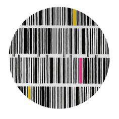 B Code Round Area Rug