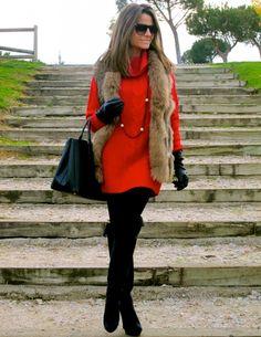 Fashion and Style Blog / Blog de Moda . Post: My Knee Boots from Pilar Burgos / Mis Botas Mosqueteras de Pilar Burgos See more/ Más fotos en : http://www.ohmylooks.com/?p=6222 by Silvia García Blanco