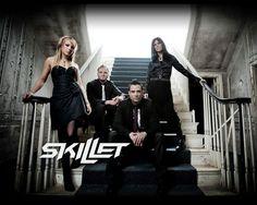 "Skillet (favorite songs: ""Hero"", ""Monster"", ""Whispers In the Dark"" and ""The Last Night"")"