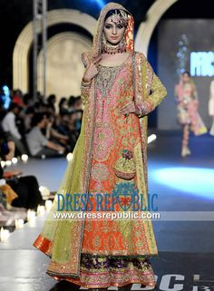 Long Pakistani Bridal Dresses For Walima Reception - Shop Online in UK Walima Bridal, Valima Bridal, Bridal Dress for Reception, Pakistani Designer, Shop Online, UK Online Shop, London Online Stores, Women's Store, Nomi Ansari, Wedding Bridals, Sharara Designs, Latest Valima Dresses, Pakistani Bridal Dresses, Latest Sharara Designs for Valima Reception Visit DressRepublic.com for Valima Reception Sharara, Gharara, and Lehenga. Walima Reception Dress London, Manchester, Birmingham, UK by…