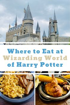 Looking for the best food and drinks at Wizarding World of Harry Potter. Our tips work for Universal Studios Florida, Universal's Orlando Resort, Universal's Islands of Adventure, Universal Studios Hollywood and Universal Studios Japan! Universal Studios Food, Universal Parks, Universal Studios Florida, Universal Studios Restaurants, Orlando Restaurants, Orlando Resorts, Island Of Adventure Orlando, Usa Places To Visit, Orlando Theme Parks