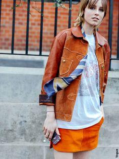 L'orange, mode d'emploi - Tendances de Mode