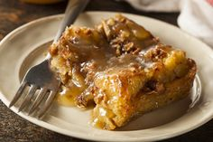 I pinned this recipe for the Butterscotch Sauce  - Apples and Honey Cake Bread Pudding with Butterscotch Sauce