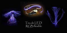https://flic.kr/p/N2DWph | Tira de LED RGB flexible | Tira de led RGB flexible de 130 cm.  Herramienta muy interesante para crear algunas formas, y con una gran variedad de colores, modos y potencias.