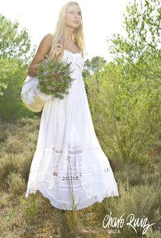 Como hacer un vestido de novia ibicenco