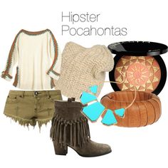 """Hipster Pocahontas"" by jenn-rector on Polyvore"