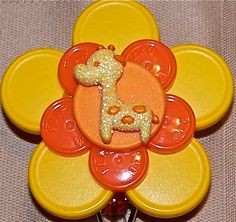 Hey, I found this really awesome Etsy listing at https://www.etsy.com/listing/175679089/retractable-flower-id-badge-holder