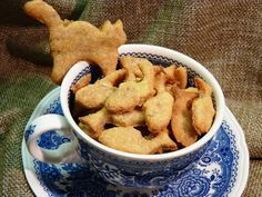 Thunfisch-Leckerli - für Hund und Katze. Ergibt etwa 100 Stück.