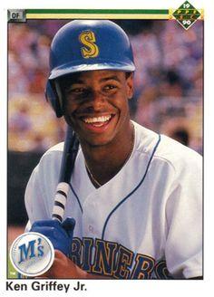 7e73901002 1990 Upper Deck Baseball Card of Ken Griffey Jr. Jr Sports, Seattle  Mariners,